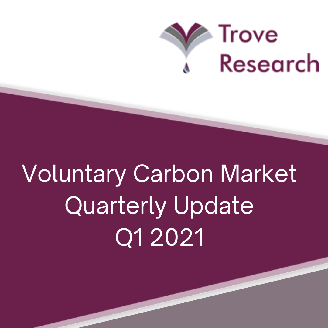 Q1 2021 review of Voluntary Carbon Market transactions (April 2021)
